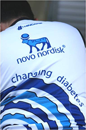 Novo Nordisk Cycling Jersey