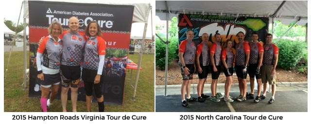 Hampton Roads Virginia Tour de Cure