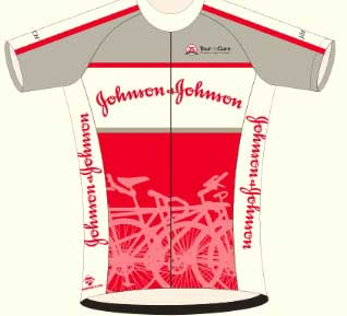 Johnson & Johson 2016 jersey
