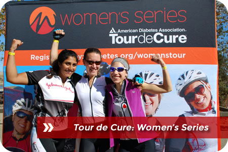 Tour de Cure: Women's Series Logo